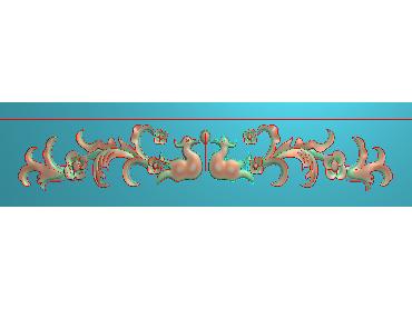 MDYH073-JDP格式欧式帽顶洋花精雕图牙板洋花精雕图欧式洋花精雕图欧式底板贴花精雕图(含灰度图)