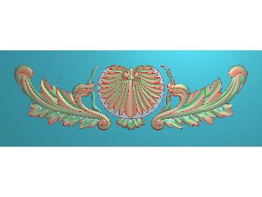 MDYH081-JDP格式欧式帽顶洋花精雕图牙板洋花精雕图欧式洋