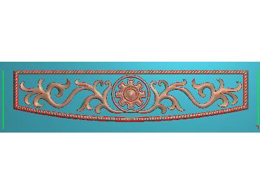 MDYH090-JDP格式欧式帽顶洋花精雕图牙板洋花精雕图欧式洋花精雕图欧式底板贴花精雕图(含灰度图)