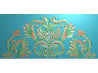 MDYH092-JDP格式欧式帽顶洋花精雕图牙板洋花精雕图欧式洋花精雕图欧式底板贴花精雕图(含灰度图)