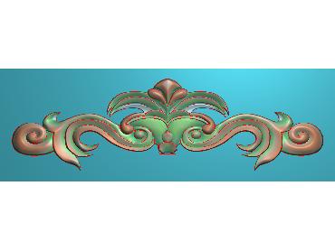 MDYH098-JDP格式欧式帽顶洋花精雕图牙板洋花精雕图欧式洋花精雕图欧式底板贴花精雕图(含灰度图)