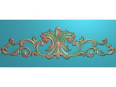 MDYH107-JDP格式欧式帽顶洋花精雕图牙板洋花精雕图欧式洋花精雕图欧式底板贴花精雕图(含灰度图)