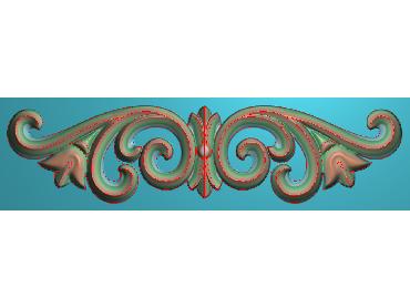 MDYH108-JDP格式欧式帽顶洋花精雕图牙板洋花精雕图欧式洋花精雕图欧式底板贴花精雕图(含灰度图)