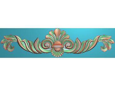 MDYH117-JDP格式欧式帽顶洋花精雕图牙板洋花精雕图欧式洋花精雕图欧式底板贴花精雕图(含灰度图)