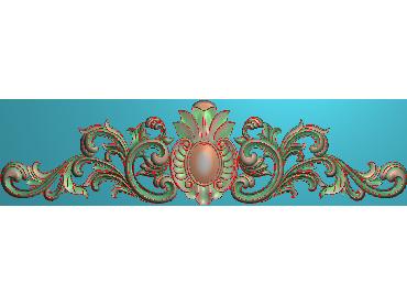 MDYH119-JDP格式欧式帽顶洋花精雕图牙板洋花精雕图欧式洋花精雕图欧式底板贴花精雕图(含灰度图)
