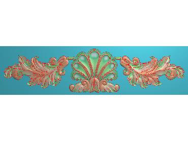 MDYH130-JDP格式欧式帽顶洋花精雕图牙板洋花精雕图欧式洋花精雕图欧式底板贴花精雕图(含灰度图)