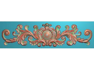 MDYH131-JDP格式欧式帽顶洋花精雕图牙板洋花精雕图欧式洋花精雕图欧式底板贴花精雕图(含灰度图)
