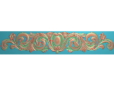 MDYH133-JDP格式欧式帽顶洋花精雕图牙板洋花精雕图欧式洋花精雕图欧式底板贴花精雕图(含灰度图)