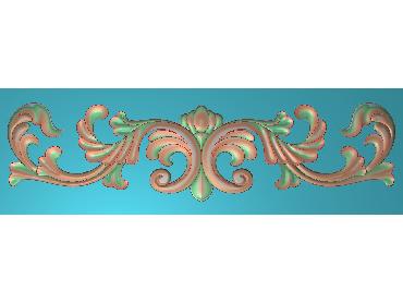 MDYH134-JDP格式欧式帽顶洋花精雕图牙板洋花精雕图欧式洋花精雕图欧式底板贴花精雕图(含灰度图)