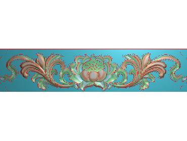 MDYH135-JDP格式欧式帽顶洋花精雕图牙板洋花精雕图欧式洋花精雕图欧式底板贴花精雕图(含灰度图)