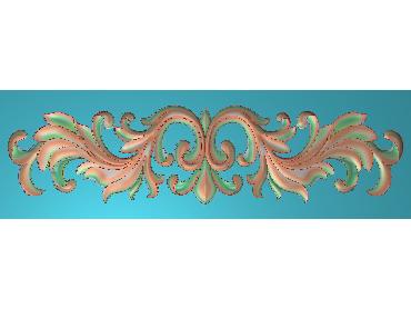 MDYH154-JDP格式欧式帽顶洋花精雕图牙板洋花精雕图欧式洋花精雕图欧式底板贴花精雕图(含灰度图)