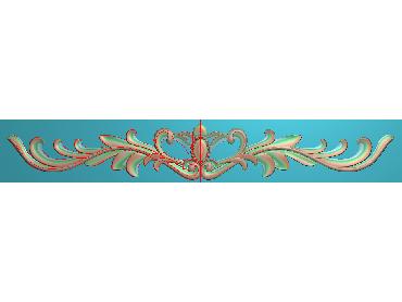 MDYH158-JDP格式欧式帽顶洋花精雕图牙板洋花精雕图欧式洋花精雕图欧式底板贴花精雕图(含灰度图)