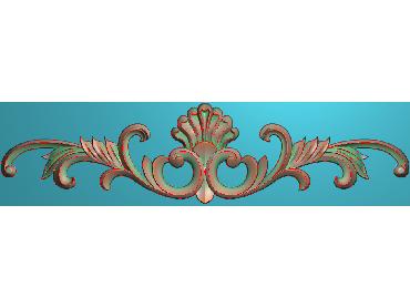 MDYH166-JDP格式欧式帽顶洋花精雕图牙板洋花精雕图欧式洋花精雕图欧式底板贴花精雕图(含灰度图)