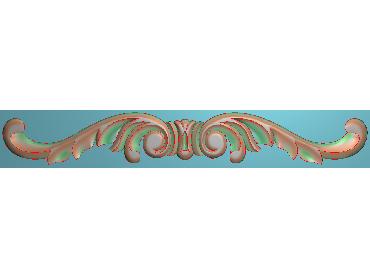 MDYH181-JDP格式欧式帽顶洋花精雕图牙板洋花精雕图欧式洋花精雕图欧式底板贴花精雕图(含灰度图)