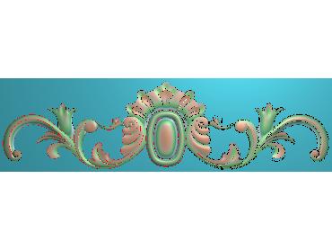 MDYH232-JDP格式欧式帽顶洋花精雕图牙板洋花精雕图欧式洋花精雕图欧式底板贴花精雕图