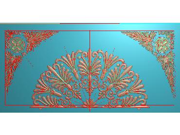MDYH239-JDP格式欧式帽顶洋花精雕图牙板洋花精雕图欧式洋花精雕图欧式底板贴花精雕图