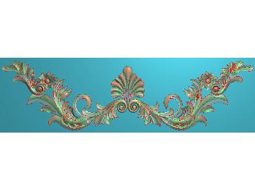 MDYH267-JDP格式欧式帽顶洋花精雕图牙板洋花精雕图欧式洋花精雕图欧式底板贴花精雕图