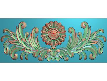 MDYH281-JDP格式欧式帽顶洋花精雕图牙板洋花精雕图欧式洋花精雕图欧式底板贴花精雕图