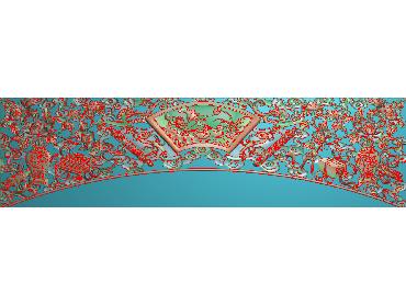 MDYH286-JDP格式欧式帽顶洋花精雕图牙板洋花精雕图欧式洋花精雕图欧式底板贴花精雕图