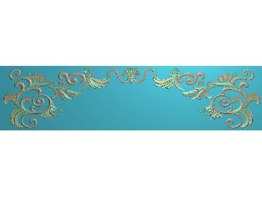 MDYH290-JDP格式欧式帽顶洋花精雕图牙板洋花精雕图欧式洋花精雕图欧式底板贴花精雕图