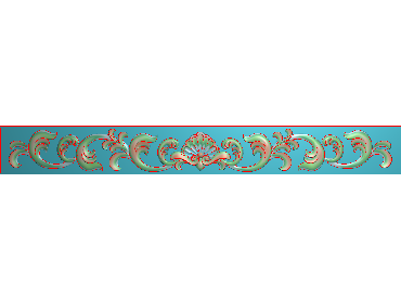 MDYH299-JDP格式欧式帽顶洋花精雕图牙板洋花精雕图欧式洋花精雕图欧式底板贴花精雕图