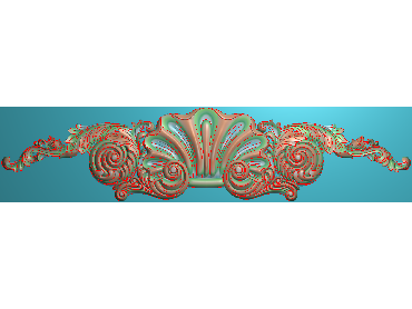 MDYH311-JDP格式欧式帽顶洋花精雕图牙板洋花精雕图欧式洋花精雕图欧式底板贴花精雕图