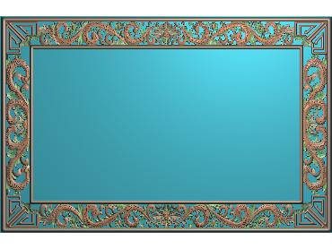 OUMH009-JDP格式欧式门花精雕图欧式洋花护墙板雕刻图欧式洋花门板精雕图