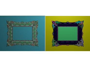 OUMH019-JDP格式欧式门花精雕图欧式洋花护墙板雕刻图欧式洋花门板精雕图