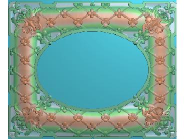 OUMH022-JDP格式欧式门花精雕图欧式洋花护墙板雕刻图欧式洋花门板精雕图