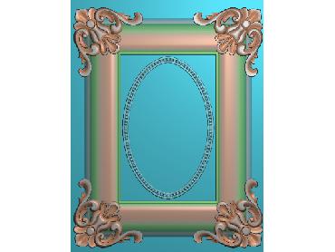 OUMH033-JDP格式欧式门花精雕图欧式洋花护墙板雕刻图欧式洋花门板精雕图