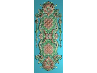 OUMH057-JDP格式欧式门花精雕图欧式洋花护墙板雕刻图欧式洋花门板精雕图