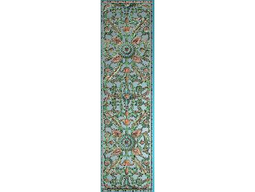 OUMH087-JDP格式欧式门花精雕图欧式洋花护墙板雕刻图欧式洋花门板精雕图