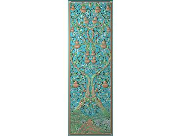 OUMH093-JDP格式欧式门花精雕图欧式洋花护墙板雕刻图欧式洋花门板精雕图