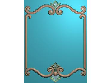 OUMH105-JDP格式欧式门花精雕图欧式洋花护墙板雕刻图欧式洋花门板精雕图
