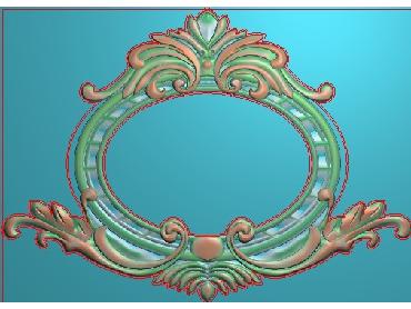 OUMH113-JDP格式欧式门花精雕图欧式洋花护墙板雕刻图欧式洋花门板精雕图