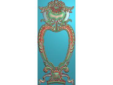 MXYH001-JDP格式欧式门芯洋花精雕图门芯贴花精雕图欧式洋花雕刻图(含灰度图)