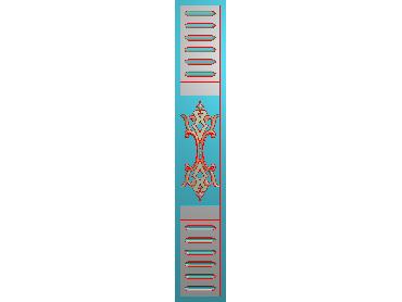MXYH083-JDP格式欧式门芯洋花精雕图门芯贴花精雕图欧式洋花雕刻图(含灰度图)