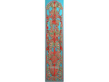 MXYH100-JDP格式欧式门芯洋花精雕图门芯贴花精雕图欧式洋花雕刻图