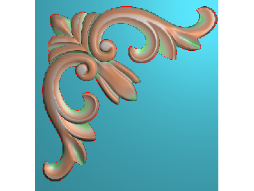 OUJH365-JDP格式欧式洋花电脑精雕图角花精雕图边角贴花雕刻图