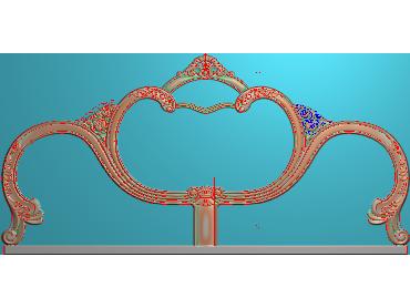 QTYH014-JDP格式欧式洋花精雕图欧式贴花雕刻图中式洋花电脑精雕图(含灰度图)