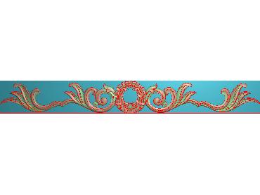 QTYH101-JDP格式欧式洋花精雕图欧式贴花雕刻图中式洋花电脑精雕图(含灰度图)
