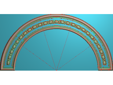 QTYH102-JDP格式欧式洋花精雕图欧式贴花雕刻图中式洋花电脑精雕图(含灰度图)