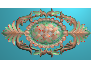QTYH214-JDP格式欧式洋花精雕图欧式贴花雕刻图中式洋花电脑精雕图