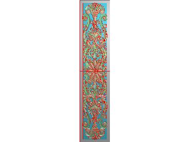 QTYH263-JDP格式欧式洋花精雕图欧式贴花雕刻图中式洋花电脑精雕图