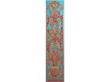 QTYH267-JDP格式欧式洋花精雕图欧式贴花雕刻图中式洋花电脑精雕图