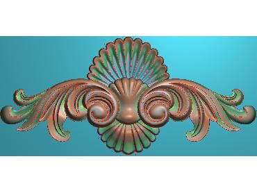 QTYH324-JDP格式欧式洋花精雕图欧式贴花雕刻图中式洋花电脑精雕图