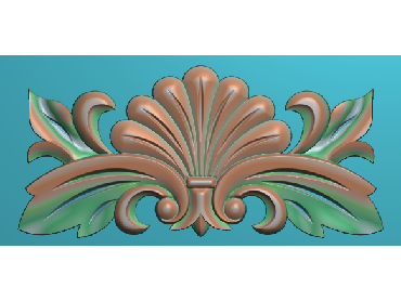 QTYH327-JDP格式欧式洋花精雕图欧式贴花雕刻图中式洋花电脑精雕图