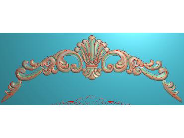 QTYH333-JDP格式欧式洋花精雕图欧式贴花雕刻图中式洋花电脑精雕图