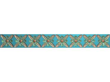 QTYH357-JDP格式欧式洋花精雕图欧式贴花雕刻图中式洋花电