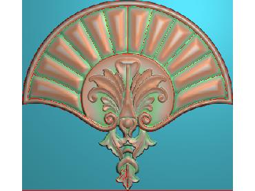 QTYH367-JDP格式欧式洋花精雕图欧式贴花雕刻图中式洋花电脑精雕图(含灰度图)